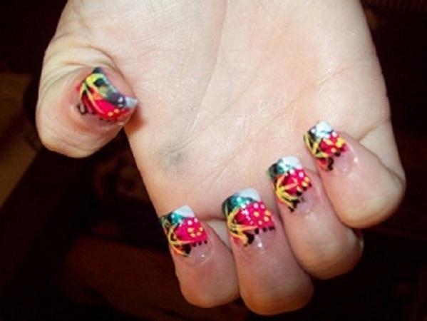 Lisa Frank Inspired - LOVE4NAILS DESIGN