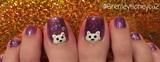 Polar bear toes