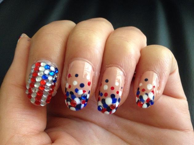 Patriotic Dots