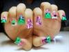 Zombie HK BDAY Nails.