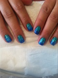 Blue Ombre Glitter