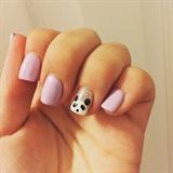 Panda Lilac Nails