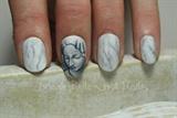 Michelangelo inspired nails