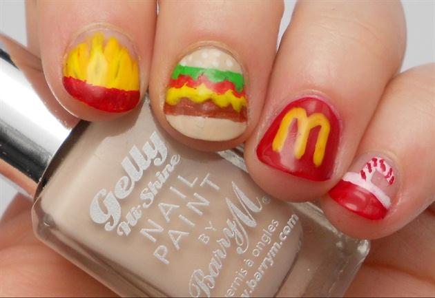 Mc Donald's Nails