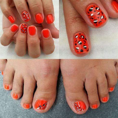 BSGfanwork Nails by Cate Preece