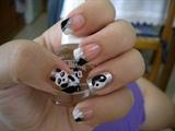 yin&yan nail art