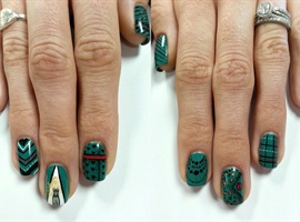 nail art: Week 8 Misa Cosmetics NTNA