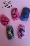 Nail art ideas - Butterflies
