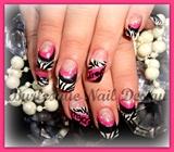 Zebra & HotPink
