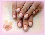 Delicate Pink&Glitter