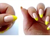 Neon & Nude French Manicure