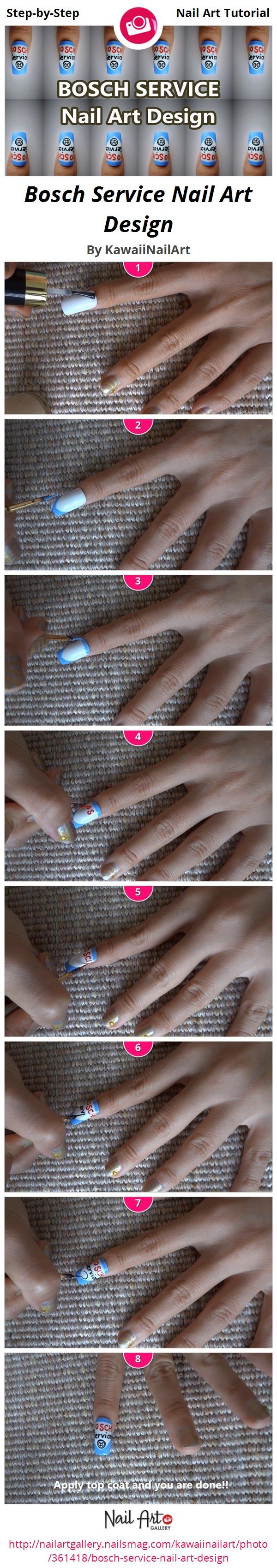 Bosch Service Nail Art Design  - Nail Art Gallery
