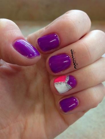 Purple Geometric 2