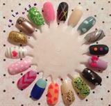 Nail Art Wheel #1