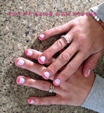 Neon Pink Tips