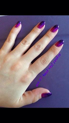 Pink & Purple Ombré