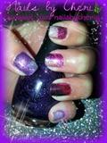 Foil on natural nails