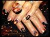 Harley Davidson nails on acrylic