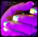 Neon art on acrylic