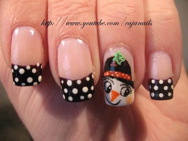 Nailart: Snowgirl