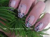 Nailart: Funky girly stylish leopard