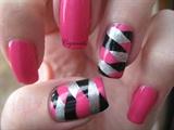 Fish tail rockstar nails