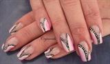 Split pink gradient