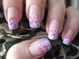 Nail art: Sweet Valentine