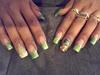 👍💰💰💰 Acrylic Money Nails