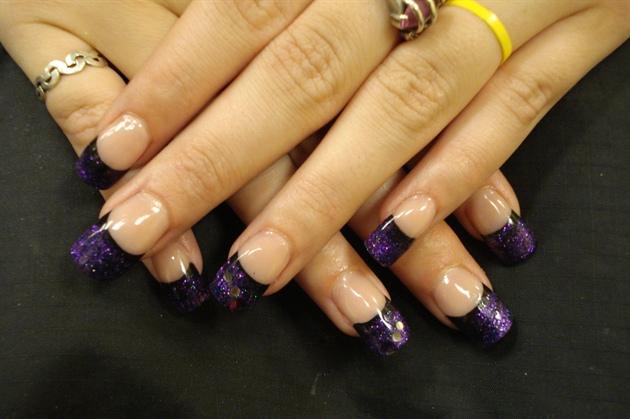 Black/Purple French