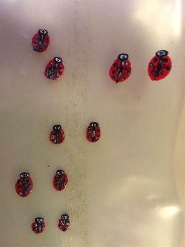 "Ladybug ""stickers"""