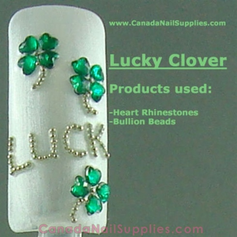 Rhinestone Clovers