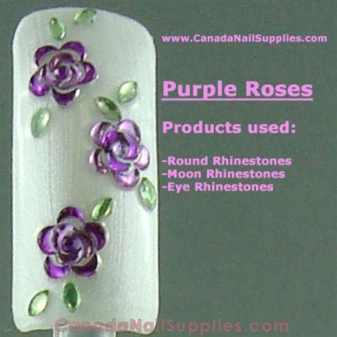 Rhinestone Roses