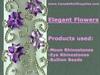Rhinestone Flowers & Bullion Beads