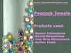 Peacock Rhinestone Jewels