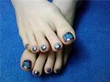 glitter and gel