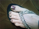 dazzle toes