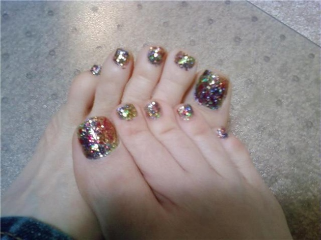 dazzle toes 2