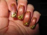a little gold foil