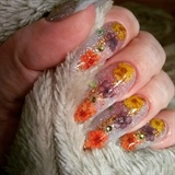 Dried flowers!