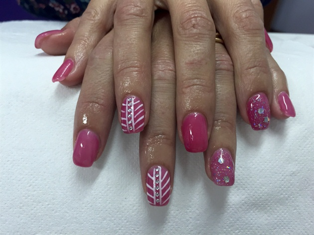 Thermal Red/Pink Gel Polish