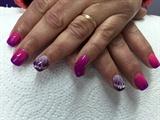 Pink & Purple Splash