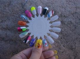 nail art: sample 2
