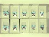 Doraemon French Nails Design
