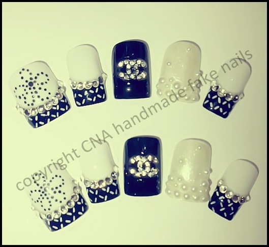 Chanel Nail Jewellery