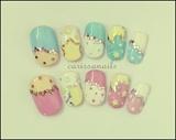 Star Pastel Nails