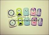 Monster Inc (short nails)
