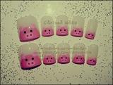 Pink Piggy Nails