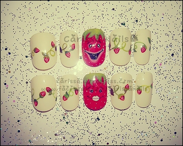 Strawberry Face (RobinMoses inspiration)