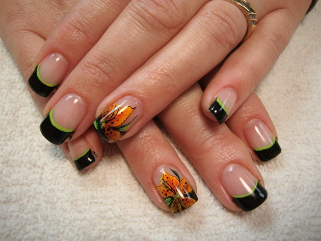 Tiger lillies nail art gallery tiger lillies prinsesfo Image collections